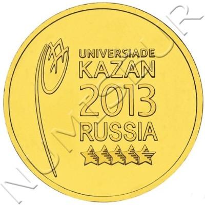 10 rublos RUSIA 2013 - Logotipo Juegos Kazan