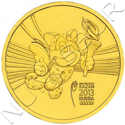 10 rublos RUSIA 2013 - Mascota Juegos Kazan