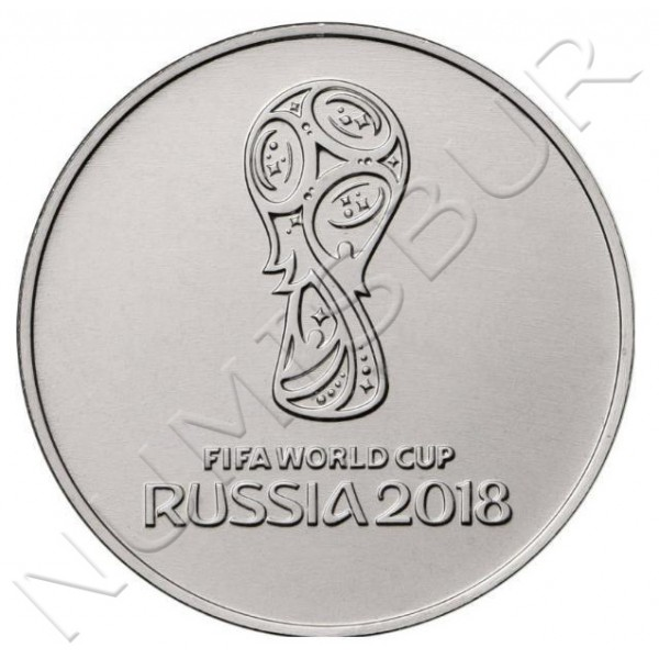 25 rublos RUSIA 2017 -  FIFA World Cup 2018