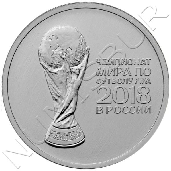 25 rublos RUSIA 2018 -  FIFA World Cup 2018