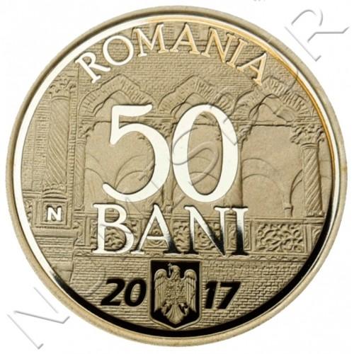 50 bani RUMANIA 2017 - 10 años de adhesión de Rumania a la UE