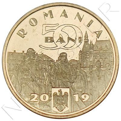 50 bani ROMANIE 2019 - Ferdinand I