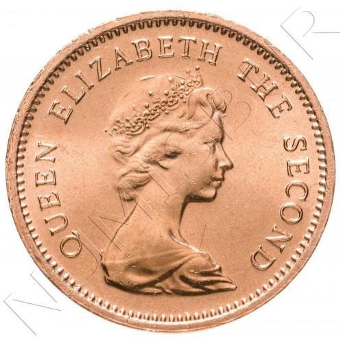 1 centavo TUVALU 1985 - Lambis shell