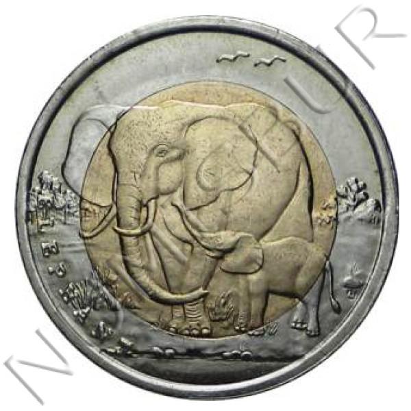 1 lira TURQUIA 2009 - Elefante