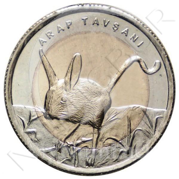 1 lira TURQUIA 2016 - Jerbo