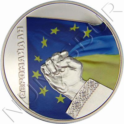 5 hryven UCRANIA 2015 - Euromaidan Revolución de la Dignidad