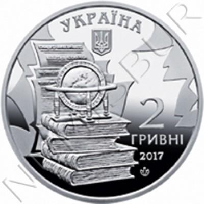 2 hryven UCRANIA 2017 -  Mykola Kostomarov