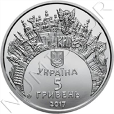 5 hryven UCRANIA 2017 - Eurovision Song Contest