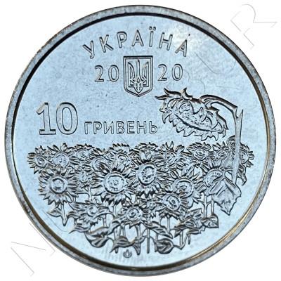 10 hryven UKRAINE 2020 - Fallen Defenders' Day