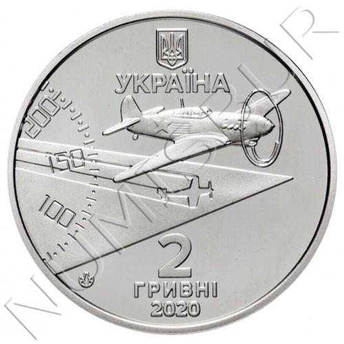 2 hryven UKRAINE 2020 - Amet-Khan Sultan