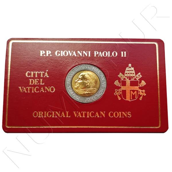500 liras VATICANO 1985 - Papa Giovanni Paolo II