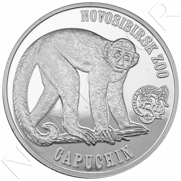 1$ VIRGIN ISLANDS 2018 - Capuchin monkey (Zoo Novosibirsk)