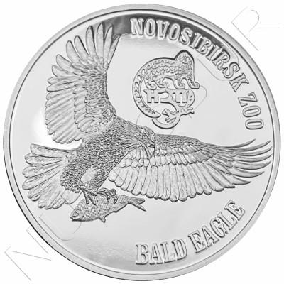1$ VIRGIN ISLANDS 2019 - Bald Eagle (Zoo Novosibirsk)