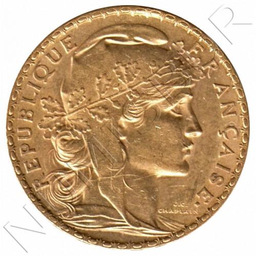 20 francs FRANCE 1904 - Paris (A) Rooster