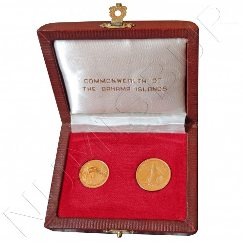 10$ & 20$ BAHAMAS 1971 - Gold