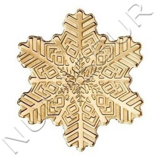 5$ COOK ISLANDS 1999 - Snowflake