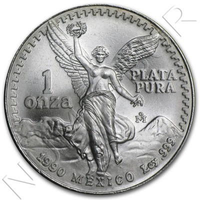 1 oz MEXICO - Liberty 1982 - 1995