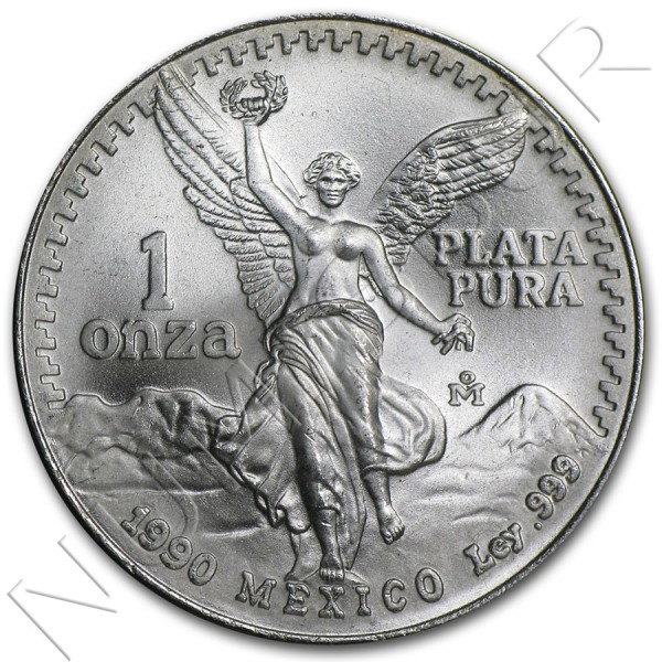 1 oz MEXICO - Liberty 1982 - 1995