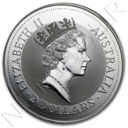 2$ AUSTRALIA 1992 - Kookaburra