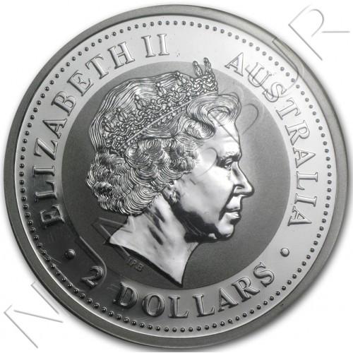 2$ AUSTRALIA 1999  - Kookaburra