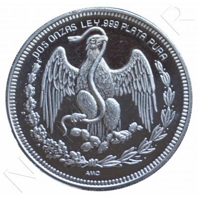2 oz PLATA PURA - Mexico