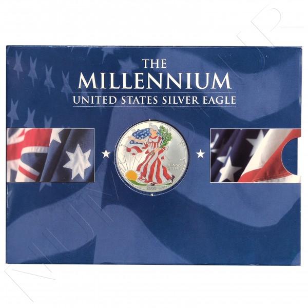 1$ USA 2000 - American Eagle Millennium