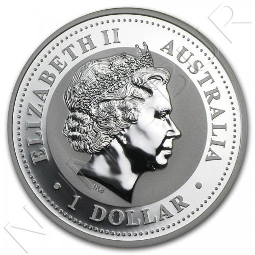 1$ AUSTRALIA 2001 - Kookaburra