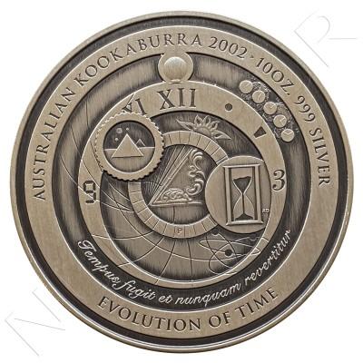 10$ AUSTRALIA 2002 - KOOKABURRA EVOLUTION TIME 10 OZ