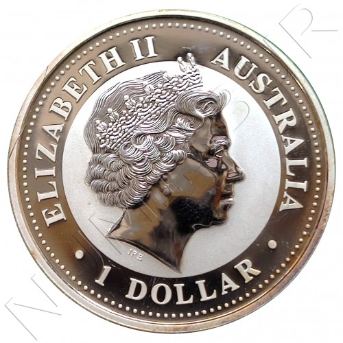 1$ AUSTRALIA 2006  - Kookaburra (Gilded Edition)
