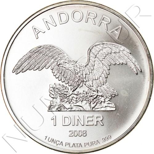1 diner ANDORRA 2008 - Eagle