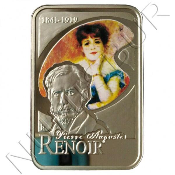10 dinars ANDORRA 2008 - Pierre-Auguste Renoir