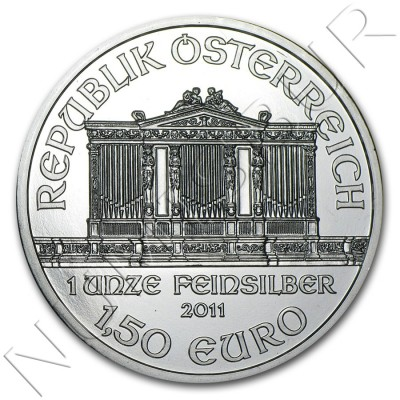 1.5€ AUSTRIA 2011 - Philarmonic of Viena