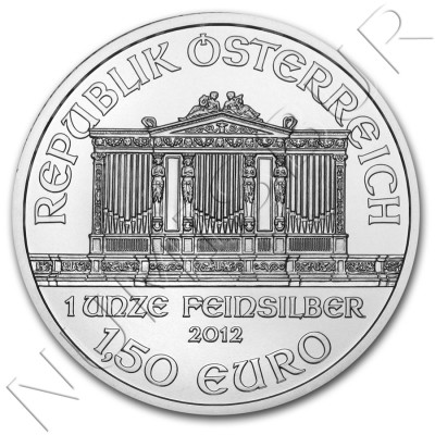 1,5€ AUSTRIA 2012 - Filamornica de Viena