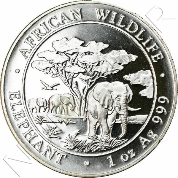 100 Shillings SOMALIA 2012 - Elephant