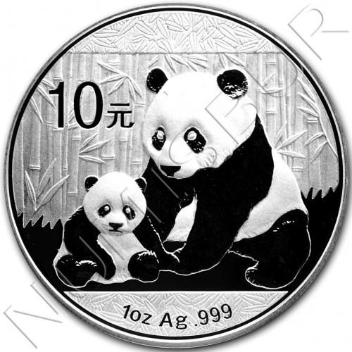 10 yuan CHINA 2012 - Panda