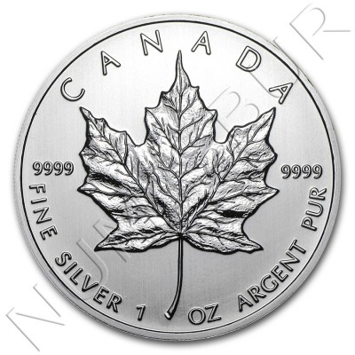 5$ CANADA 2012 - Hoja Arce MAPLE