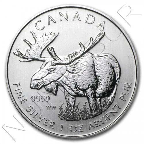 5$ CANADA 2012 - Alce