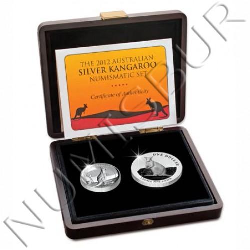 1$ AUSTRALIA 2012 - Set coleccionista CANGURO