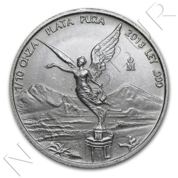 1/10 oz MEXICO 2013  - Libertad