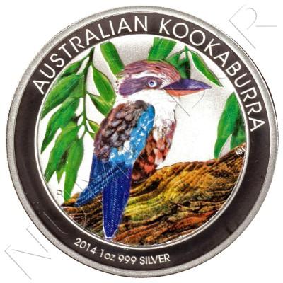 1$ AUSTRALIA 2014 - Kookaburra