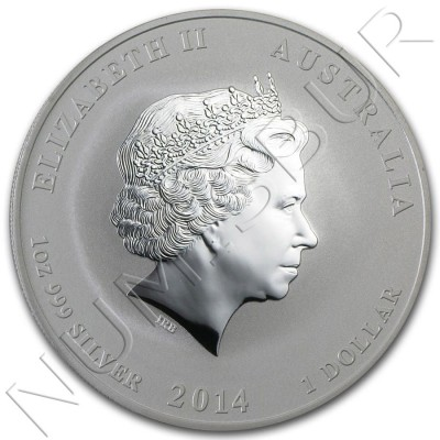 1$ AUSTRALIA 2014 - Horse