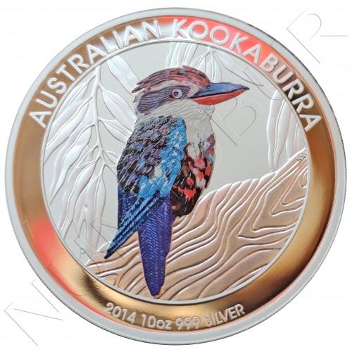 10$ AUSTRALIA 2014 - Kookaburra 10 oz