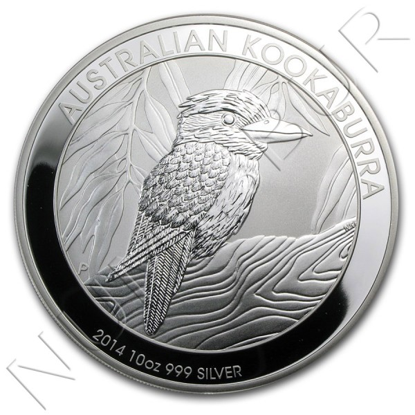 10$ AUSTRALIA 2014 - Kookaburra