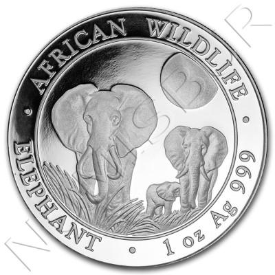 100 Shillings SOMALIA 2014 - Elephant