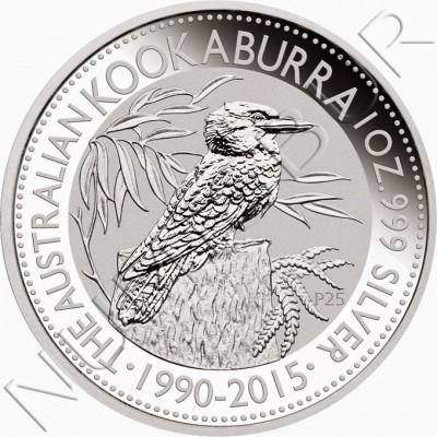 1$ AUSTRALIA 2015 - Kookaburra