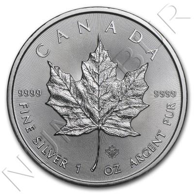 5$ CANADA 2015 - Maple Leaf BU
