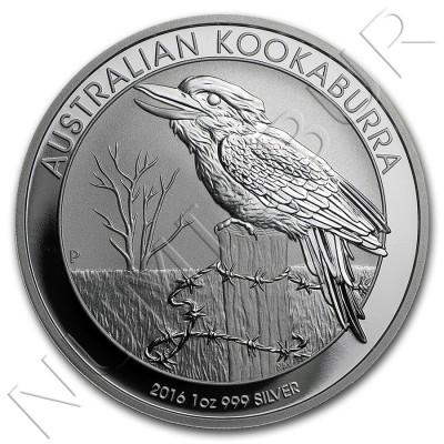 1$ AUSTRALIA 2016 - Kookaburra