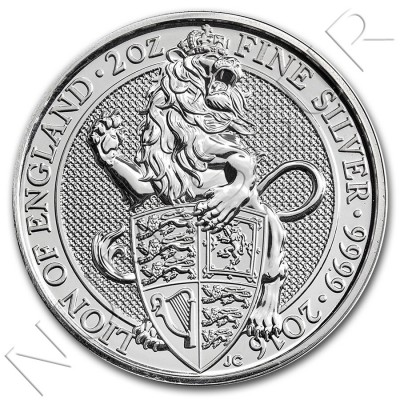 5£ UNITED KINGDOM 2016 - Queen's Beasts The Lion