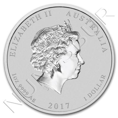 1$ AUSTRALIA 2017 - Rooster