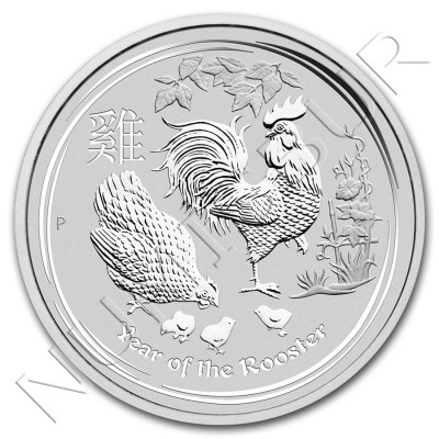 50 cent AUSTRALIA 2017 - Gallo 1/2 oz